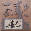 Тени хэллоуина Набор для вышивания Neocraft