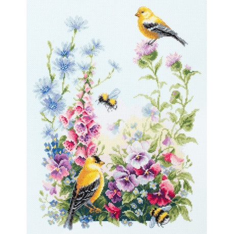 Летняя песня Набор для вышивания Чудесная игла 130-031