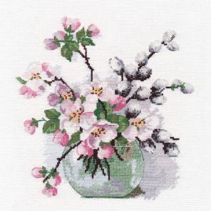 Аромат весны Набор для вышивания Овен 1386