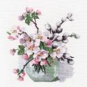 Аромат весны Набор для вышивания Овен