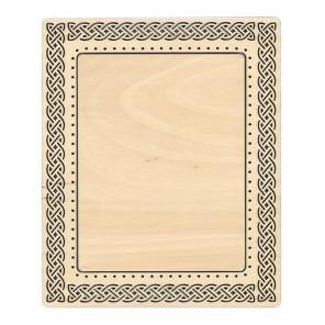 Кельтский узор малая Рамка деревянная для вышивки ОР-116