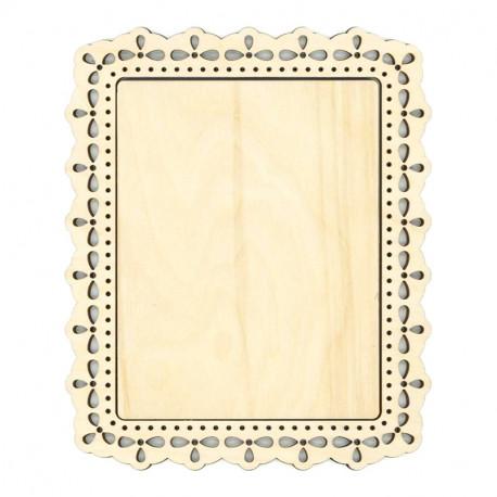 Узор 1 малая Рамка деревянная для вышивки ОР-119