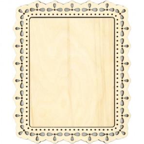 Узор 1 большая Рамка деревянная для вышивки ОР-121