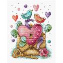 День влюбленных Набор для вышивания МП Студия