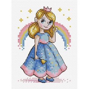 Принцесса Набор для вышивания МП Студия М-607