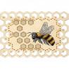 Пчела. Органайзер Набор для вышивания на деревянной основе МП Студия О-025