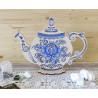 Пример вышитой работы Приятного чаепития Набор для вышивания на деревянной основе МП Студия О-010