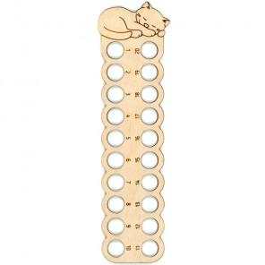Кот с клубком Органайзер для ниток мулине ОР-036