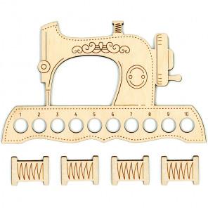 Швейная машинка Органайзер и бобины для ниток мулине ОР-037