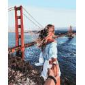 Следуй за мной. Мост Раскраска картина по номерам на холсте