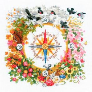Компас Набор для вышивания Риолис 1881