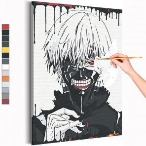 Токийский гуль Анимэ Раскраска картина по номерам на холсте AAAA-ANI035
