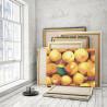 Пример работы Персики 75х100 см Раскраска картина по номерам на холсте AAAA-RS139-75x100