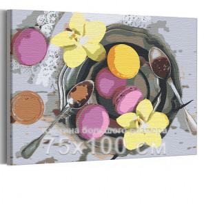 Сладкий завтрак 75х100 см Раскраска картина по номерам на холсте AAAA-RS140-75x100
