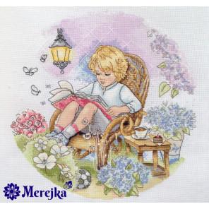 Сказочный сад Набор для вышивания Merejka K-18
