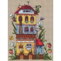 Летний домик Набор для вышивания Merejka