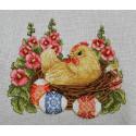 Счасливой пасхи Набор для вышивания Merejka