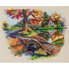 Осенний пейзаж Набор для вышивания Merejka K-103