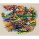 Осенний пейзаж Набор для вышивания Merejka