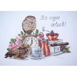 Время пить кофе Набор для вышивания Merejka K-83