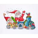 Рождественское путешествие Набор для вышивания Merejka