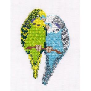 Попугайчики Набор для вышивания Овен 1396
