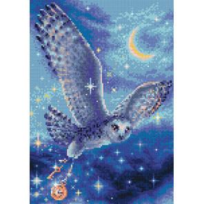 Волшебная сова Алмазная вышивка мозаика Риолис АМ0041