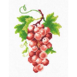 Гроздь винограда Набор для вышивания Многоцветница МКН 02-14