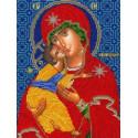 Владимирская Богородица Набор для вышивания бисером Вышиваем бисером
