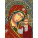 Икона Казанской Божией Матери Набор для вышивания бисером Вышиваем бисером