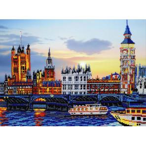 Лондон Набор для вышивания бисером Паутинка Б-1486