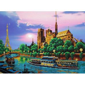 Париж Набор для вышивания бисером Паутинка Б-1487