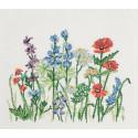 Полевые цветы Набор для вышивания PERMIN