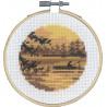 Рыбалка Набор для вышивания PERMIN 13-0738