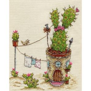 Долина кактусов вышивка крестом Набор для вышивания Neocraft ЦТ-11