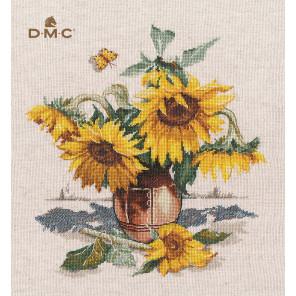 Солнечные цветы Набор для вышивания Овен 1400