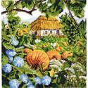 Южный сад Набор для вышивания Марья Искусница