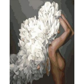 Девушка-цветок. Праздник чистоты Картина по номерам на холсте GX36633
