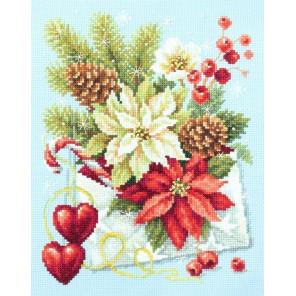 С Рождеством! Набор для вышивания Чудесная игла 100-241