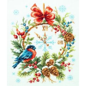 Время рождества Набор для вышивания Чудесная игла 100-243