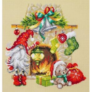 В ожидании рождества Набор для вышивания Чудесная игла 100-251