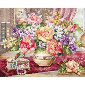 Розы в гостиной Набор для вышивания Алиса 2-50