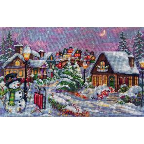Рождественская ночь Набор для вышивания Merejka K-71