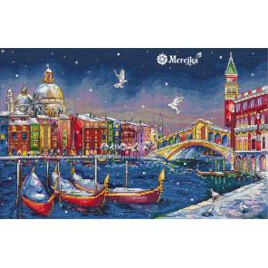 Праздничная Венеция Набор для вышивания Merejka K-29