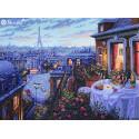 Вечерний Париж Набор для вышивания Merejka