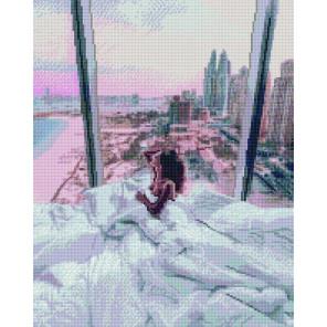 Утро в пентхаусе Алмазная вышивка мозаика APK11126