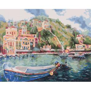 Итальянский причал Раскраска картина по номерам CG2008