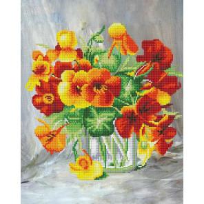 Оранжевое чудо Алмазная вышивка мозаика Color Kit KU103
