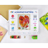 Коробка Тюльпан Алмазная вышивка мозаика Color Kit KUK108