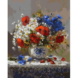 Пряное лето Картина по номерам на холсте Color Kit CG2012